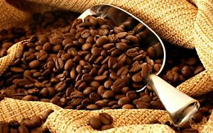 100% Organic Colombian Medium Whole Roasted Coffee Beans (select Weight)