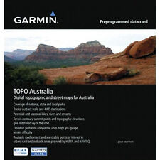 GARMIN TOPO MAPS AUSTRALIA & NEW ZEALAND V5, THE LATEST MAP,  4X4, GPS ,CAMPING