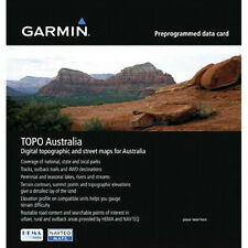 Latest 2016 Garmin Australia & New Zealand Topo Map V5 + Micro SD Card, GPS