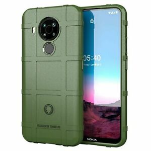 For Nokia 5.4 Phone Case Shockproof Rugged Shield Armor Soft Matte TPU Cover