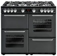 New World Traditional Free Standing 100cm Gas Range Cooker Charcoal