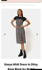 Motel Rocks midi dress size 8