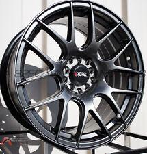 XXR 530 18X7.5 Rims 5x100/114.3 +38 Chromium Black Wheels (Set of 4)