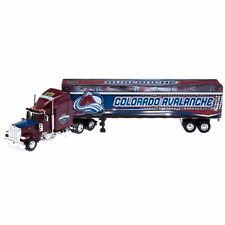COLORADO AVALANCHE TRACTOR TRAILER NHL 2007 REPLICA SEMI DIECAST TRUCK 1:80 SCL