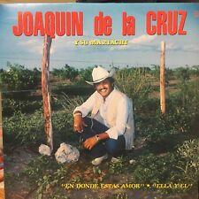 """""""Tejano Tex Mex"""" """"Joaquin de la Cruz y s Mariachi"""" """"En Donde estas..."""" """"Rare LP"""""""