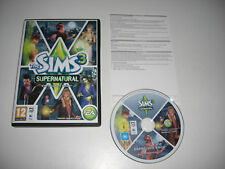 THE SIMS 3 SUPERNATURAL Add-On Expansion Pack Pc DVD Rom / MAC SIMS3 Fast Post