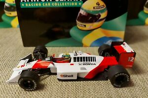 Ayrton Senna Collection McLaren MP4/4 1:43 Car Number 1