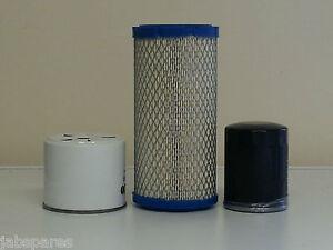JCB 8014, 8015, 8016, 8017, 8018 w/Perkins 103.10 Yr. 2000> Filter Service Kit