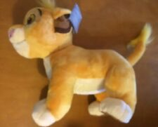 """Disney Store Simba Lion Cub Plush 12"""""""