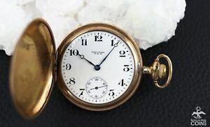 1917 American Waltham Hand Wind Grade: 625 Model 1908, 17J, Size 16 Pocket Watch