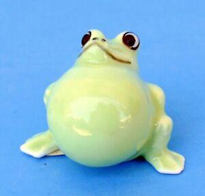 Bug House Japan Vintage Bone China Miniature Frog