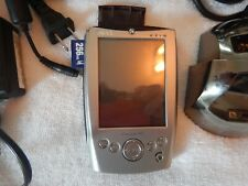 Dell X5 Pda with cradle and hard shell case and Sd card