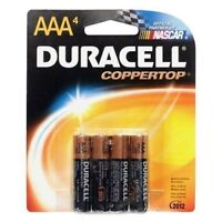 Duracell Coppertop AAA Batteries, 4-Count (Pack of 2)
