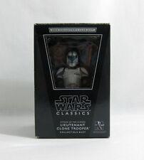 NEW 2008 Star Wars ✧ Lieutenant Clone Trooper ✧ Gentle Giant Bust MISB