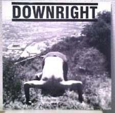 "DOWNRIGHT - 7"" 2000 italy hc NM/M conditions scum of society impact wretched ccm"