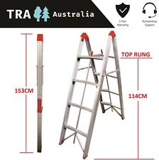 TRA 4 STEP COLLAPSIBLE PORTABLE LADDER CARAVAN RV JAYCO ACCESSORIES MOTOR HOME