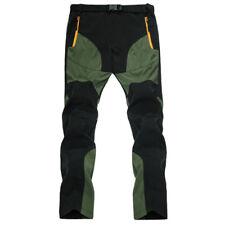 Mens Waterproof Outdoor Hiking Climbing Combat Trousers Tactical Pants Bottoms