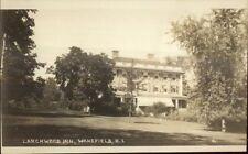 Wakefield Ri Larchwood Inn c1910 Real Photo Postcard