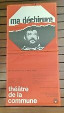 Poster Theatre Jean Pierre Chabrol IN Ma Ripstop 1968