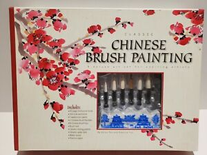 Classic Chinese Brush Painting Deluxe Art Set New