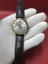 1 Wintex Herren Armband Uhr Swiss Made gold orig. gemarkt läuft, frühe Role gut!