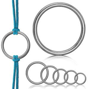 Rundring O-Ring Edelstahlring Edelstahl V4A Rostfrei Geschweißt Metallring
