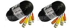 Video Power Cable 2x18m BNC Kabel für CCTV Kamera DVR Sicherheitssysteme