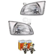 Headlight Set for Toyota Starlet P9 Year 96-99 H4 Incl. Philips Lamps