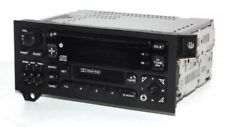 1997 Jeep Cherokee Radio AMFM CD Cassette Player w Aux Input RAZ - P04704383 SWC