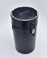 "Genuine Black Nikon CL-43A Hard Lens Case 10.0"" x 5.00"" (#T475)"