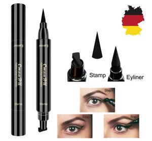 2-in-1 Eyeliner Stift und Eyeliner Stempel Augen Kosmetik  wasserfestes Make up