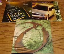 Original 2000 2001 2002 Honda Odyssey Sales Brochure Lot of 3 00 01 02