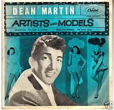 Artists And Models-1955-Original Movie Soundtrack-Record 7'' EP