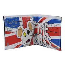 Danger Mouse The Boss Union Jack Mens Wallet - Official Dangermouse Black