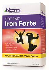 BLOOMS ORGANIC IRON FORTE 30 CAPSULES
