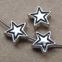 50x Retro Tibetan Silver Angel wings Spacer Beads Accessories DIY Findings 179AF