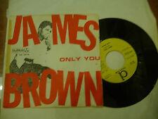 "JAMES BROWN""ONLY YOU/TILL THEN-disco 45 giri DURIUM Italy 1965"" FUNKY"
