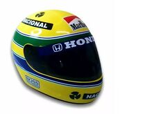 AYRTON SENNA HELMET 1:1 SCALE FULL SIZE REPLICA  LIMITED EDITION 1991  F1 HELM