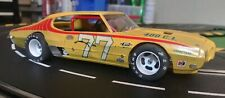 MPC GTO SuperStocker slot car.New 1/25 H&R racing chassis.18,000rpm motor.