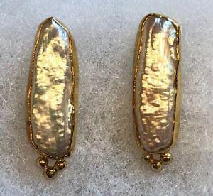 Tricia's 18k 22k Pearl Stud Earrings