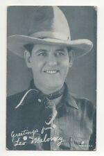 Leo Maloney 1940's 1950's Salutations Cowboy Exhibit Arcade Card