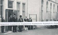 Fürst Bismarck + König von Siam - Druck - um 1915 1920 ............. R16-11