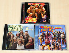 3 CD SAMMLUNG - THE KELLY FAMILY - OVER THE HUMP - ALMOST HEAVEN - GROWIN UP