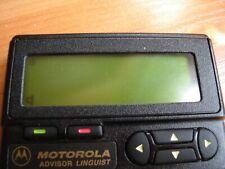 Motorola Advisor Linguist (rare, vintage pager)
