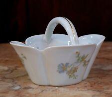 Vintage Haviland Limoges Margaux Pattern Candy Basket