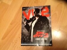 PROMOTIONAL VUE FILM MAGAZINE features SIN CITY 2 / WHAT WE DID ON OUR HOLIDAY