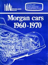 Book - Morgan Cars 1960-1970 - Plus Four 4/4 Plus 8 IV III - New copy Brooklands