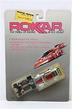 1989 Rokar PORSCHE CARRERA HO Slot Race Car HANDLES GREAT! Unopened 1011 MOC A++