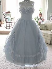 Vintage Prom Victorian Civil War BALL GOWN Dress GUNNE SAX by Jessica McClintock
