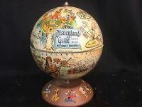 "RARE Vintage Walt Disney Rand McNally  Disneyland Game ""A World in Itself"" Globe"